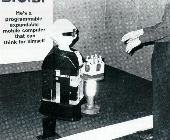 Androbot BOB/XA robot