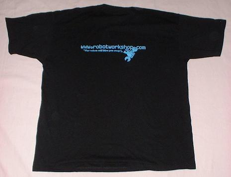 Crash Test T-shirt (back)