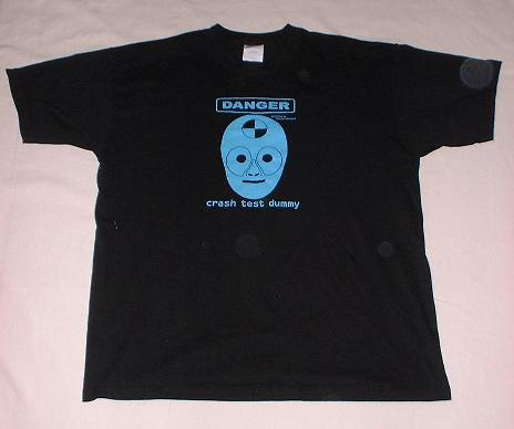 Crash Test T-shirt (front)