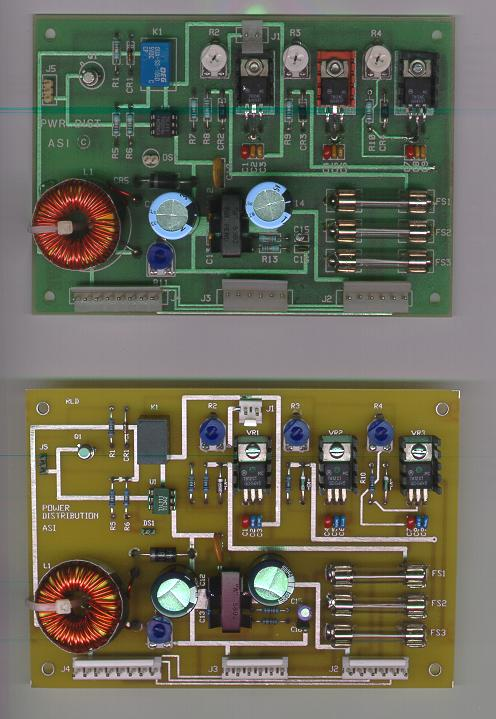 Gemini Power Supply boards