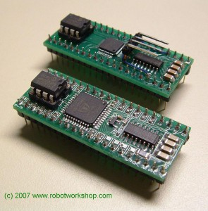 Propeller based module in BS2p40 form factor