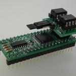 Custom Propeller module using EEPROM bank switch adapter