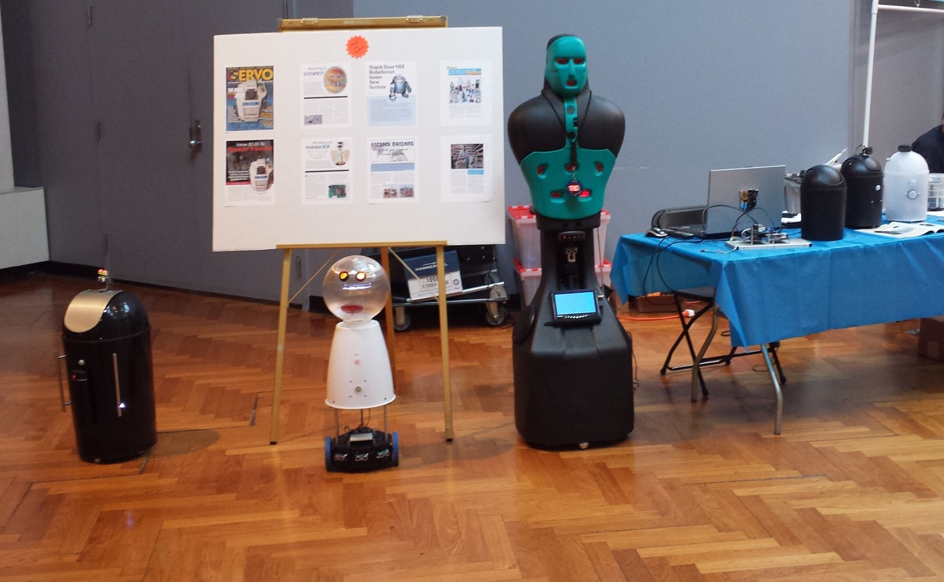Robots at Henry Ford Maker Faire